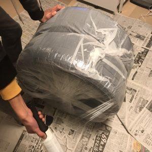 タイヤの梱包方法